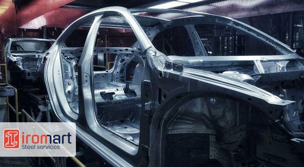 نقش فولاد در صنعت خودرو