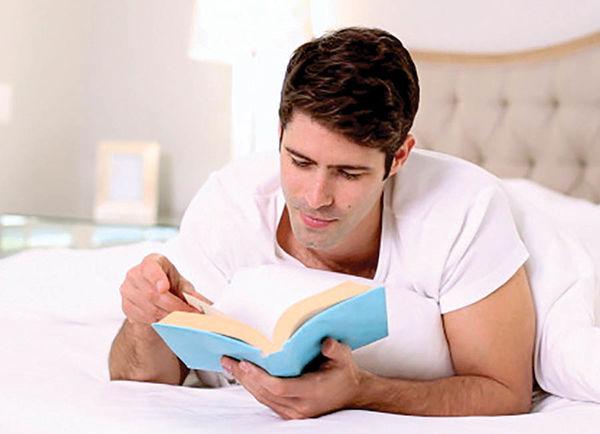 تاثیر 6 دقیقه مطالعه پیش از خواب برکاهش استرس