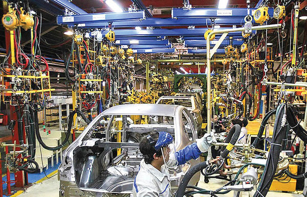 شاگرد اول رشد تولید خودرو
