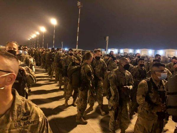 خروج تعدادی از نظامیان آمریکا از عراق