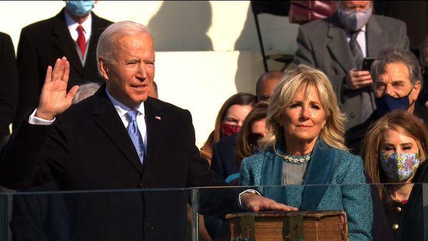 چهل و ششمین رئیسجمهوری آمریکا سوگند یاد کرد