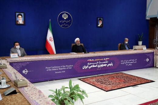 روحانی: چرا کسی که به دولت فحاشی میکند تشویق میشود؟ /9