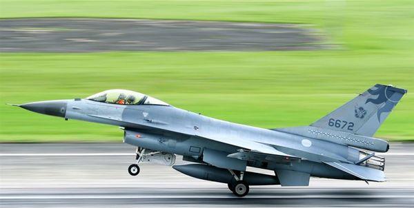 ناپدید شدن یک جنگنده «اف-16» تایوان