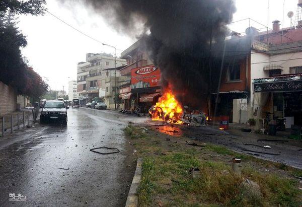انفجار خودروی بمب گذاری شده در شمال سوریه