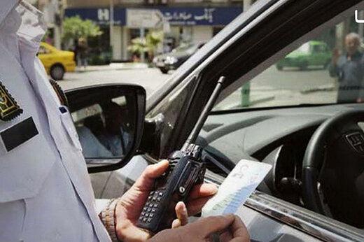 نرخ جدید جریمه تردد خودروی کاربراتوری