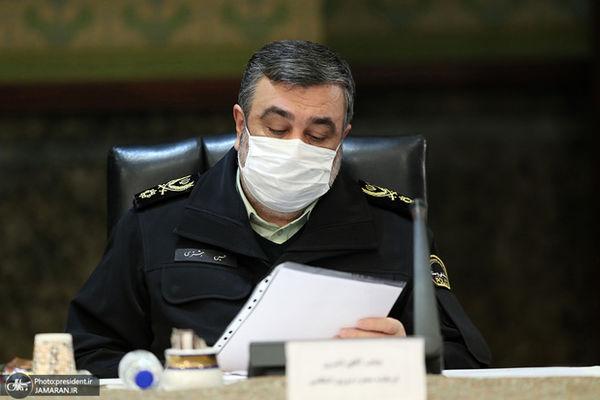 فرمانده ناجا به دیدار مراجع تقلید رفت