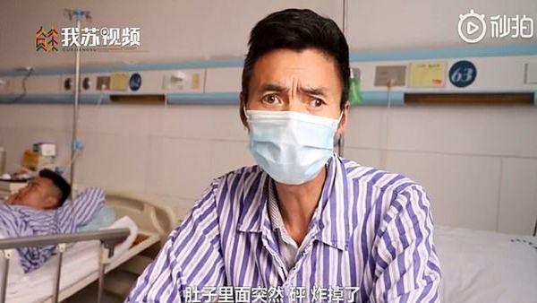 ترکیدن مرد چینی پس از صرف یک کاسه سوپ