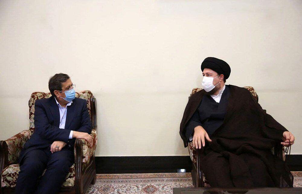 کدام کاندیدای ریاست جمهوری با سیدحسن خمینی دیدار کرد؟+عکس