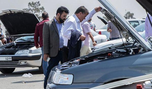 افت ۱۰ میلیون تومانی قیمتها در بازار خودرو / پراید ۷ میلیون ارزان تر شد
