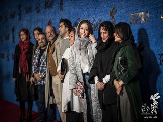 بازیگران فیلم «یلدا» روی فرش قرمز