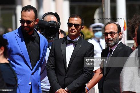 امیر جدیدی و اصغر فرهادی در جشنواره کن 2021