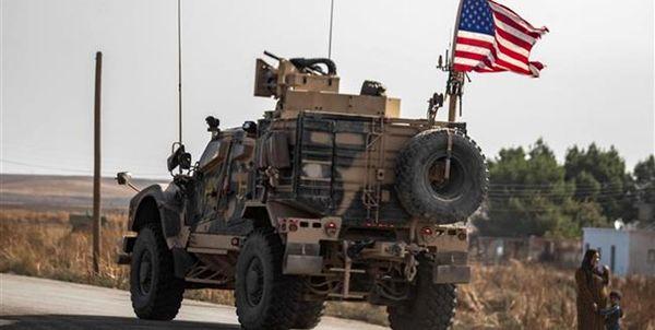 یک کاروان لجستیکی آمریکا در عراق هدف قرار گرفت