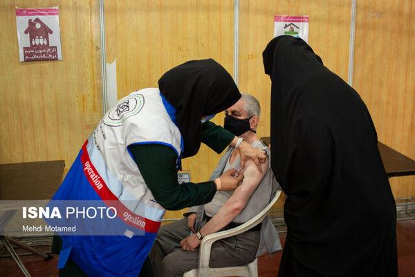 آخرین آمار واکسیناسیون کرونا در ایران
