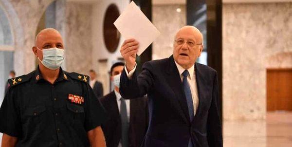 امضای فرمان تشکیل دولت لبنان