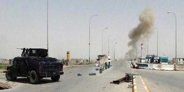 انفجار بمب در مسیر 2 کاروان لجستیک آمریکا در عراق