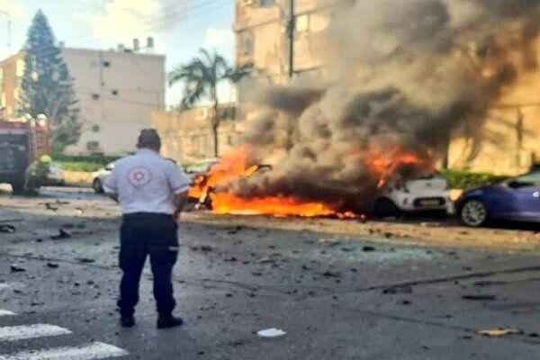 انفجار در تل آویو