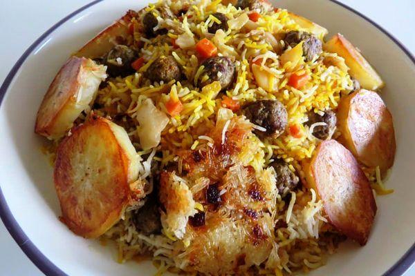 غذای معروف شیرازی ها
