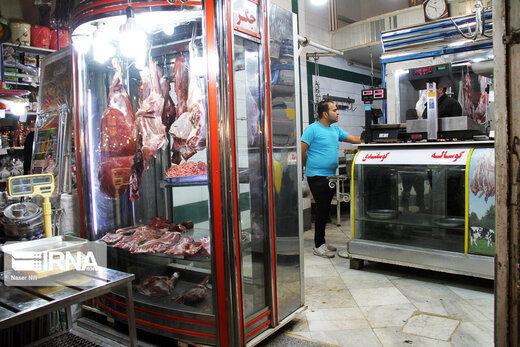قیمت گوشت در میادین میوه و ترهبار