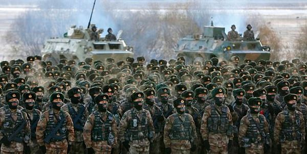 چین برای جنگ با آمریکا آماده می شود؟