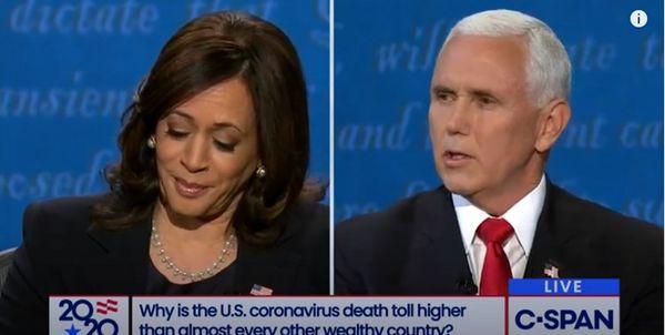 پیروز مناظره دوم انتخابات که بود؟ پنس یا هریس؟