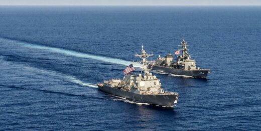خبر تازه از رزمایش آمریکا و یونان در خلیج فارس
