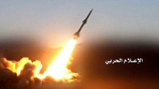حمله موشکی انصارالله به ریاض