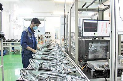 تولید چراغهای خودرو با قیمت مناسب