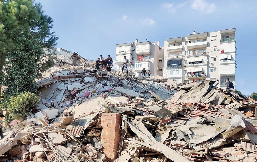زلزله 7 ریشتری در ترکیه