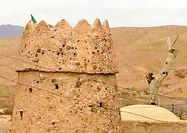 برج تاریخی گزک فرو ریخت