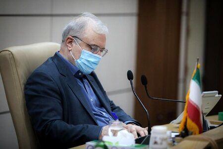 دستور وزیر بهداشت برای کنترل مبادی ورودی کشور