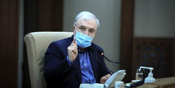 وزیر بهداشت خبر داد: منع عبور و مرور در ۵ کلانشهر با موافقت روحانی