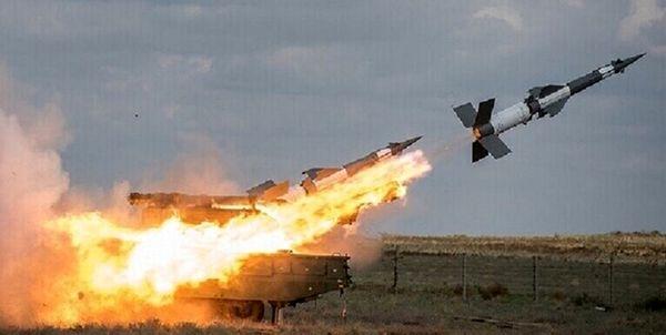 سرنگونی 8 موشک اسرائیل توسط پدافند هوایی سوریه
