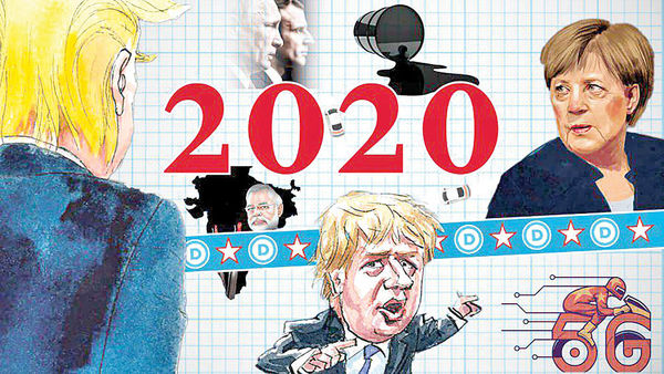 20 پیشبینی از جهان 2020