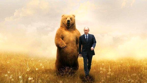 تصویر تولد پوتین حسابی سوژه شد+عکس