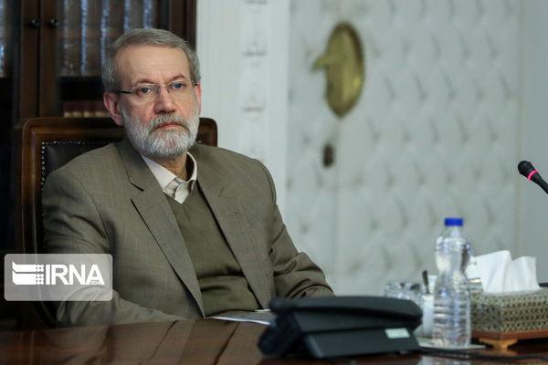 لاریجانی: امنیت و معنویت کشور، مرهون شهداست