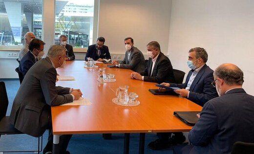دیدار رئیس سازمان انرژی اتمی با وزیر انرژی آلمان