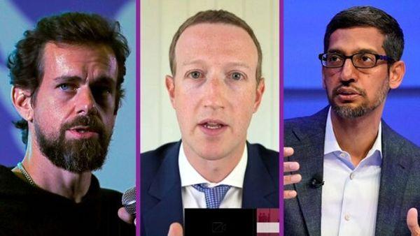 مدیران توئیتر، فیسبوک و گوگل به کنگره آمریکا احضار شدند