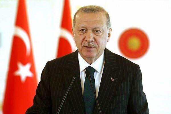 اردوغان: امیدوارم فرانسه از شر ماکرون خلاص شود