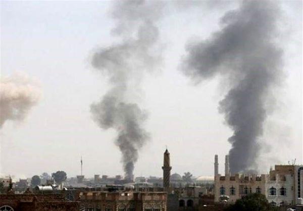 حمله هوایی جنگنده های سعودی-اماراتی به مناطق مسکونی یمن
