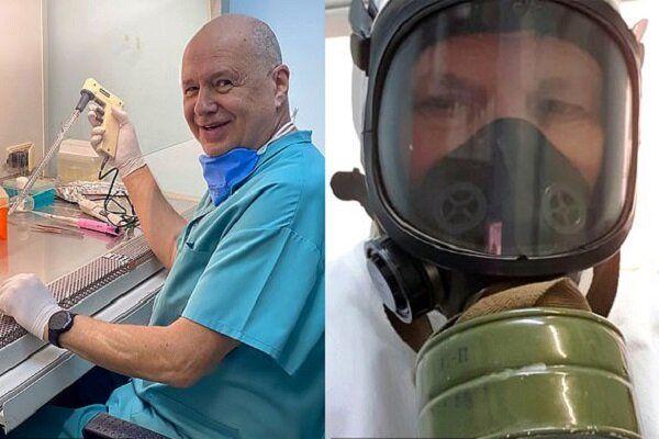 محقق روس برای دومین بار خود را به کرونا آلوده کرد