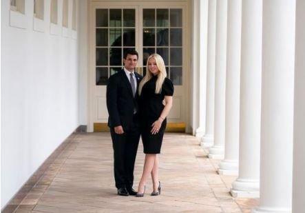 جشن نامزدی دختر کوچک ترامپ پیش از ترک کاخ سفید