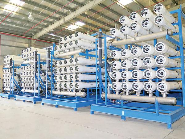 بومیسازی و صادرات آب شیرین کن صنعتی
