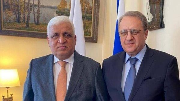 جزئیات دیدار رئیس سازمان حشد شعبی عراق با مقامات روسیه
