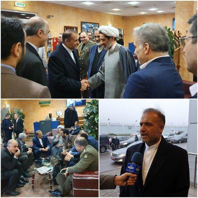 حضور سفیر جدید ایران در روسیه