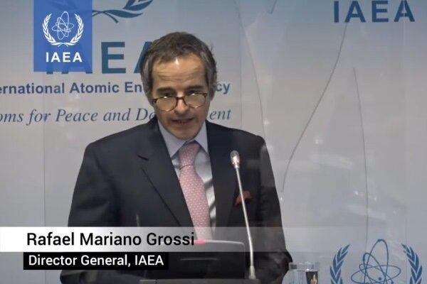 خبر وال استریت ژورنال از تعویق کنفرانس خبری رافائل گروسی درباره ایران