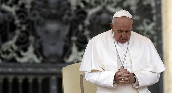 پاپ اعظم واتیکان بستری شد!