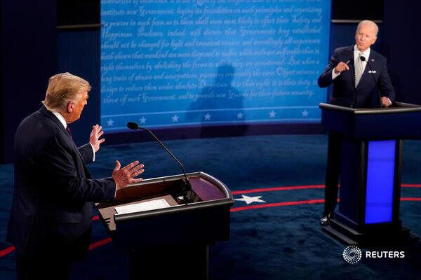 ۱۱ نفر از حاضران مناظره انتخاباتی آمریکا به کرونا مبتلا شدند