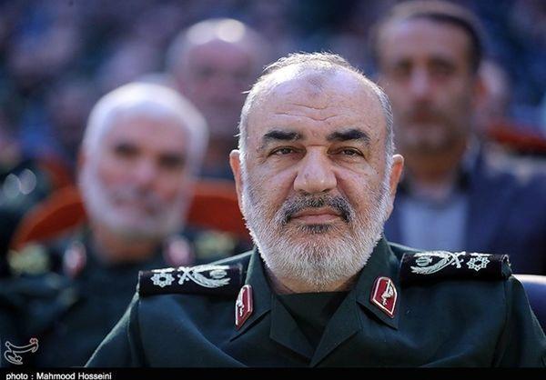 سردار سلامی واکسن کرونای ایرانی زد