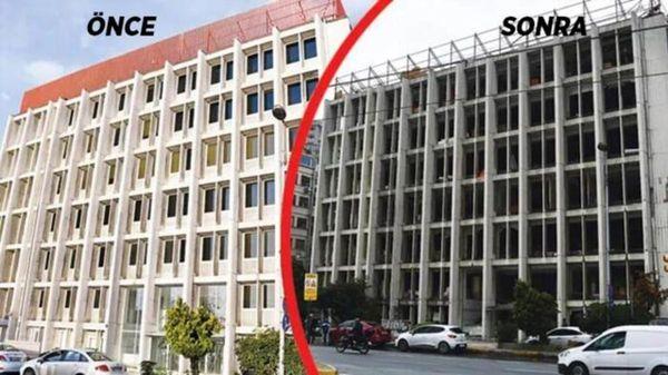سرنوشت ساختمان رضا ضراب در استانبول+عکس