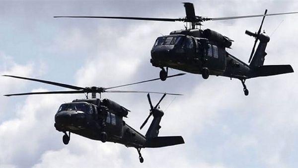 پرواز مشکوک هواپیماهای آمریکایی بر فراز استان الانبار عراق